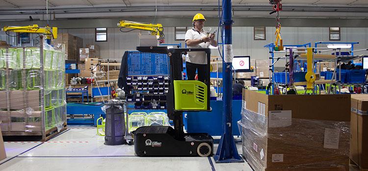 Wózki wspierające pracę podczas pracy